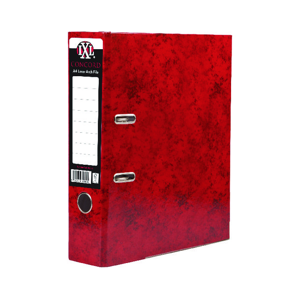 Concord A4 File 70mm Red IXL Lever Arch (Pack of 10) 162272