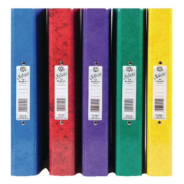 Concord IXL A4 Assorted Ring Binder (Pack of 10) 462299