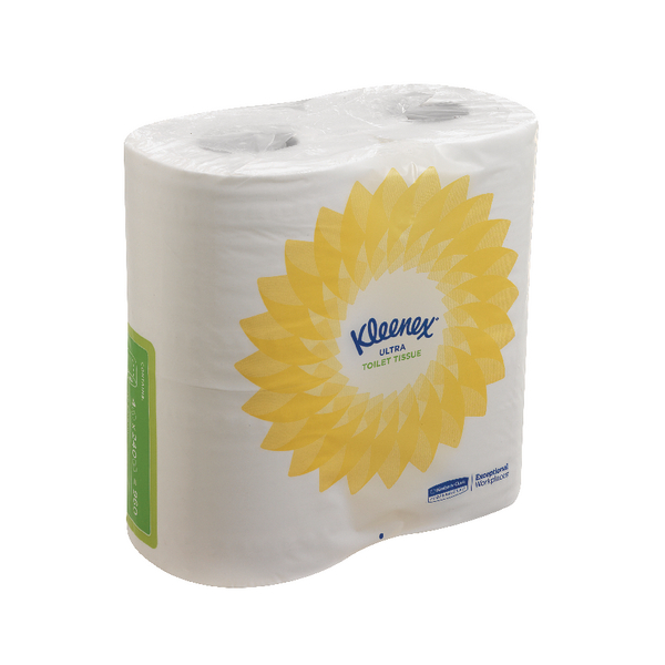 Kleenex Ultra Toilet Tissue Small Roll 2 Ply 240 Sheets White 8475