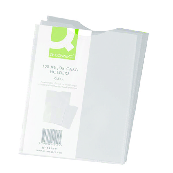 Q-Connect A6 Card Holder KF01949 (Pack of 100)