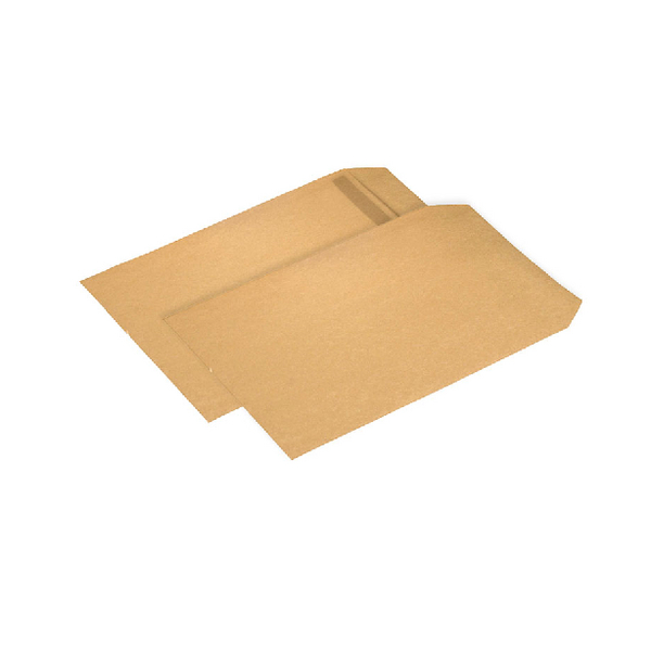 Q-Connect Pocket Envelope B4 353x250mm Self Seal 90gsm Manilla (Pack of 250) KF02893