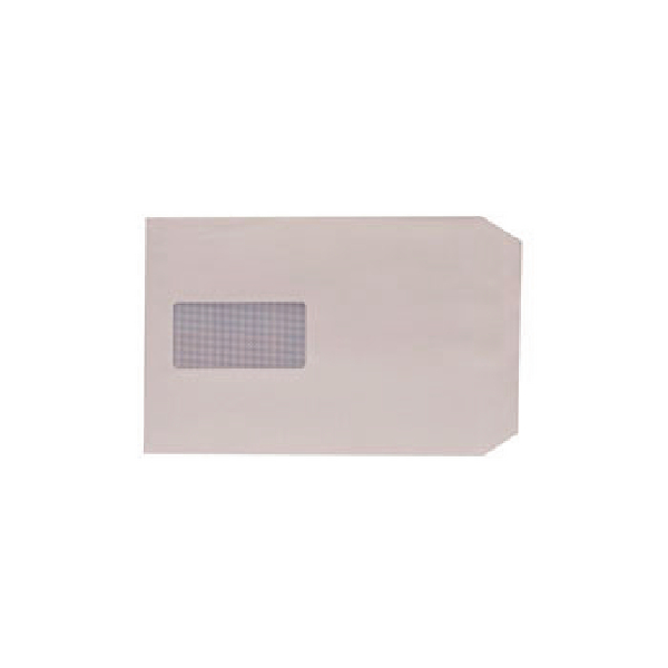 Q-Connect C5 Envelopes 100gsm Window Peel and Seal White (Pack of 500) 1P53