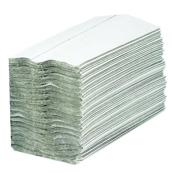 2Work White 1-Ply C-Fold Hand Towel (Pack of 2880) HC128WH