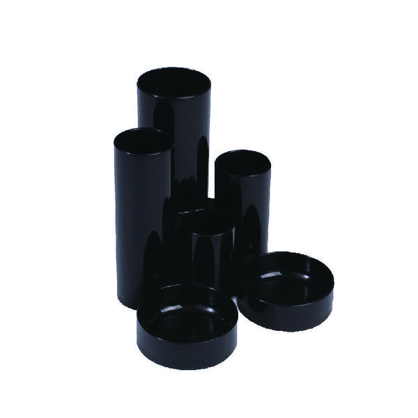 Q-Connect Black Tube Desk Tidy