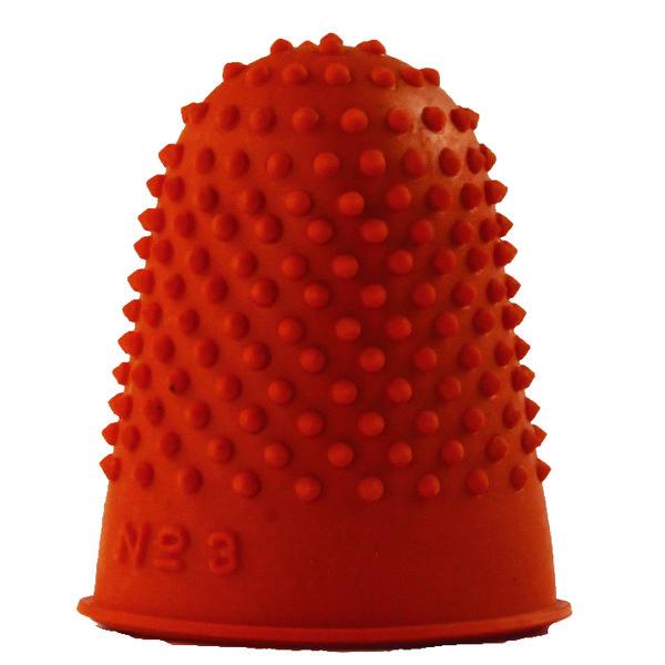Q-Connect Orange Thimblette Size 3 Pack of 12 KF21511