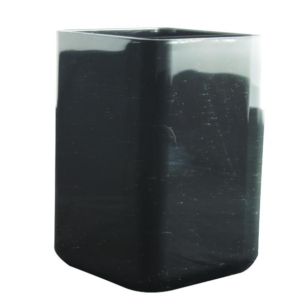 Q-Connect Black Executive Pen Pot KF21696