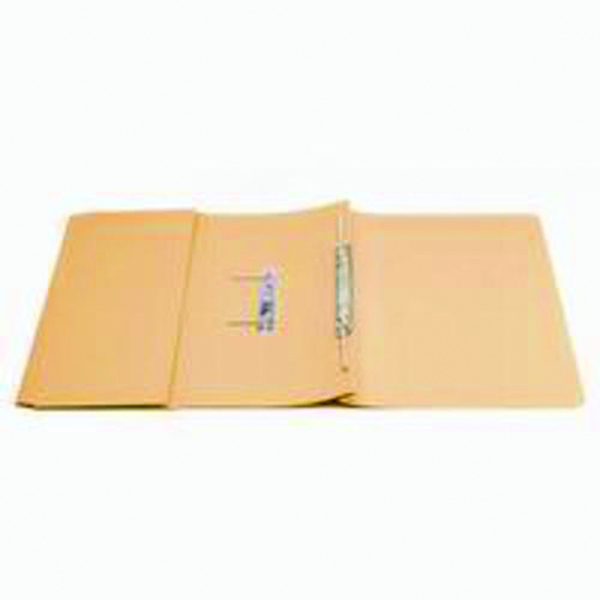 Q-Connect 35mm Capacity Orange Transfer Pocket Foolscap File (Pack of 25) KF26097