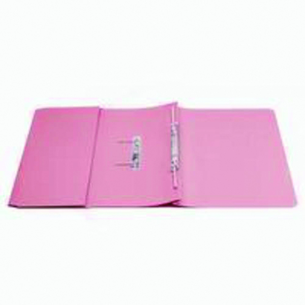 Q-Connect 35mm Capacity Pink Transfer Pocket Foolscap File (Pack of 25) KF26098