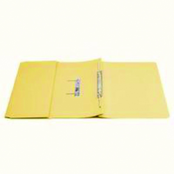 Q-Connect 35mm Capacity Yellow Transfer Pocket Foolscap File (Pack of 25) KF26099