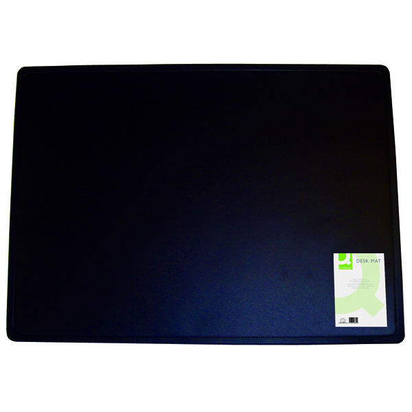 Q-Connect Desk Mat 400x530mm Black KF26802