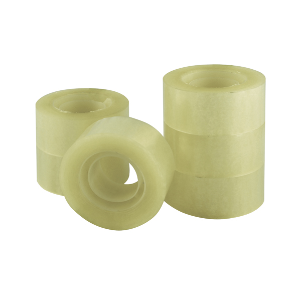 Q-Connect Polypropylene Tape 24mm x 33m Pack of 6 KF27014