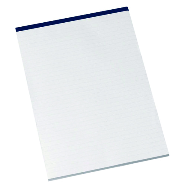 Q-Connect Narrow Ruled Board Back Memo Pad 160 Pages A4 (Pack of 10) KF32006
