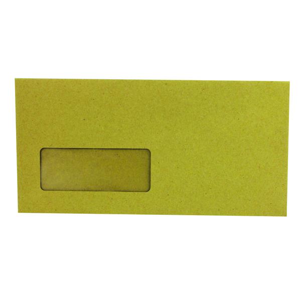 Q-Connect DL Window Envelopes 70gsm Manilla Gummed (Pack of 1000) KF3423