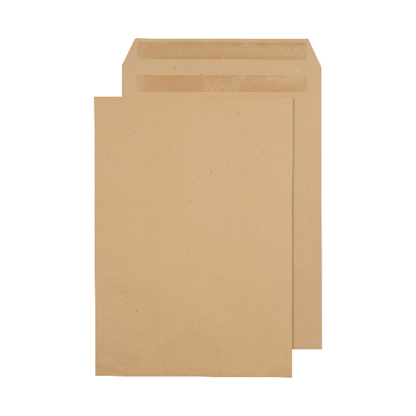 Q-Connect C4 Envelopes 80gsm Self Seal Manilla (Pack of 250) 3470