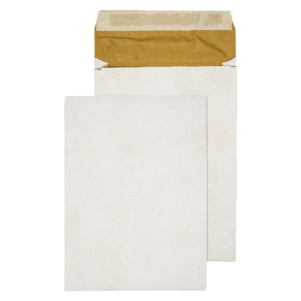 Q-Connect Padded Gusset C4 Envelopes 324x229x50mm Peel and Seal White (Pack of 100) KF3531