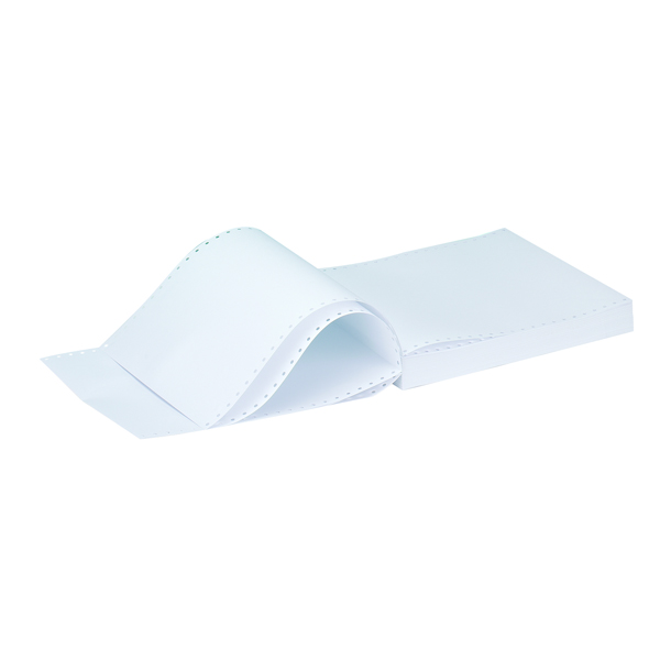 Q-Connect 11x9.5 Inches 1-Part 60gsm Plain Listing Paper (Pack of 2000) C16PP