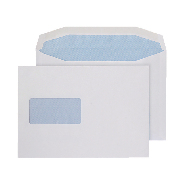 Q-Connect C5 Window Envelopes 100gsm Self Seal White (Pack of 500) 9007500