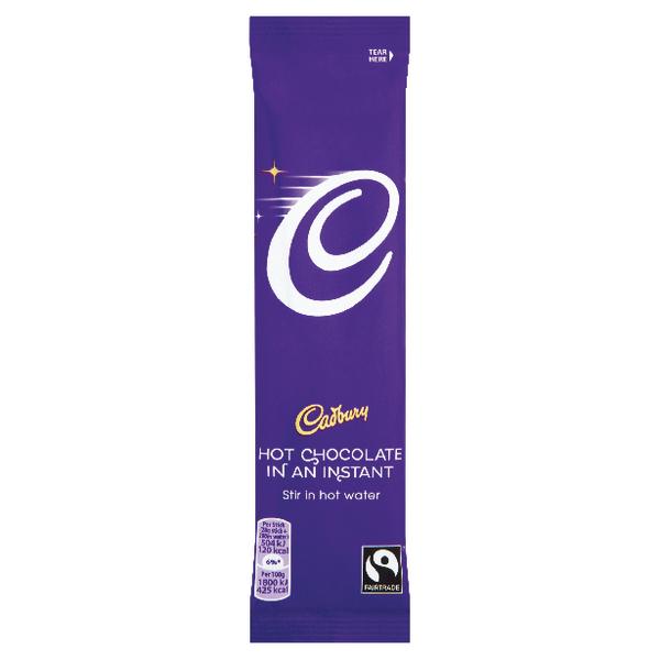 Cadbury Instant Hot Chocolate Sachets 28g (Pack of 50) 915654
