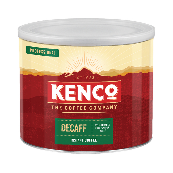 Environmentally Friendly Kenco Decaffeinated Freeze Dried Instant Coffee 500g 88633