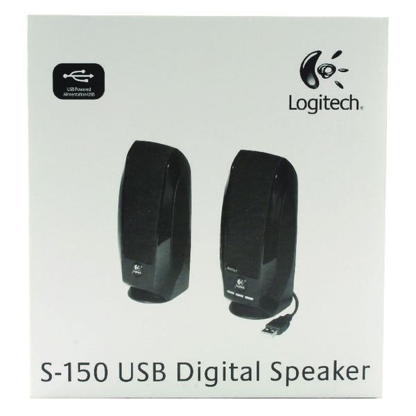 Logitech S-150 Speakers Black 980-000029