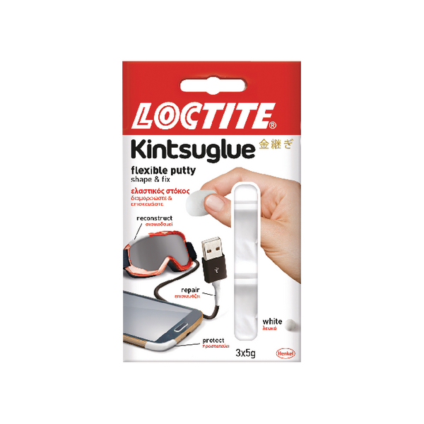 Loctite Kintsuglue Putty 5g White (Pack of 3) 2239177