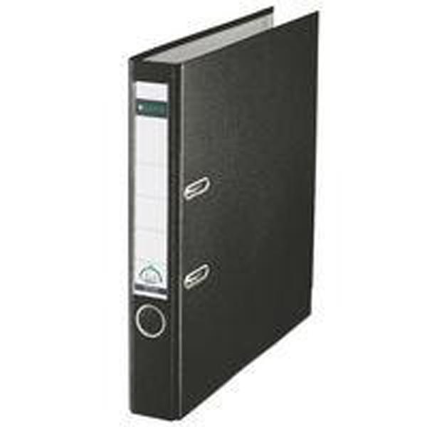 Leitz 180 Polypropylene A4 50mm Black Lever Arch File (Pack of 10) 10151095