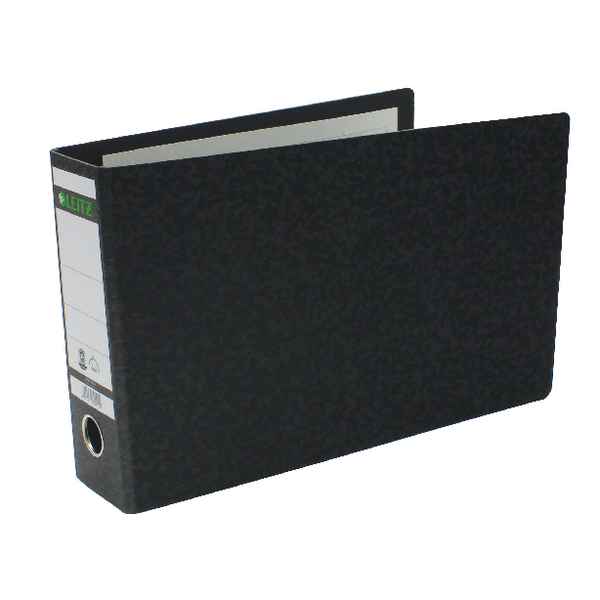 Leitz 180 A4 Lever Arch File Oblong Black (Pack of 4) 310690195