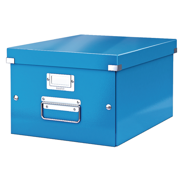 Leitz Click & Store Medium Storage Box Blue 60440036