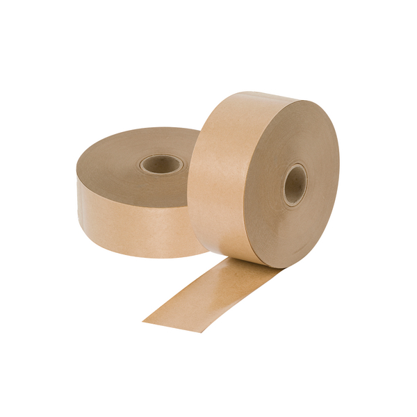 Gummed Paper Tape 48mm x 200m Brown 19221