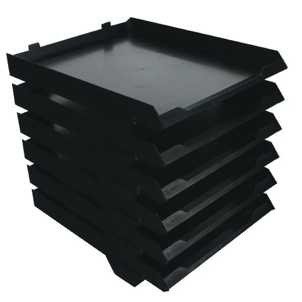 Avery 6 Tier Paperstack Black 5336BLK