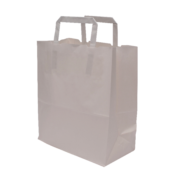 MyCafe Kraft SOS Carriers Internal Handles 250x140x305mm White (Pack of 250) 304703