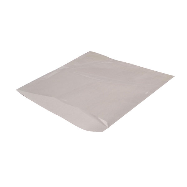 MyCafe Sulphite Film Front Bags 250x250mm White (Pack of 1000) 303306B