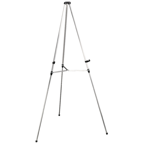 Nobo Aluminium Grey Telescopic Display Easel Q50E