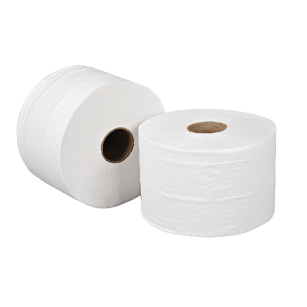 Leonardo Versatwin 2 Ply White Toilet Roll 100m Pack of 24 JSL100