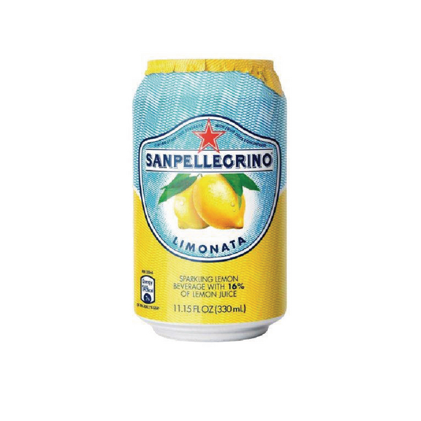 San Pellegrino Limonata Lemon 330ml Cans (Pack of 24) 12166912