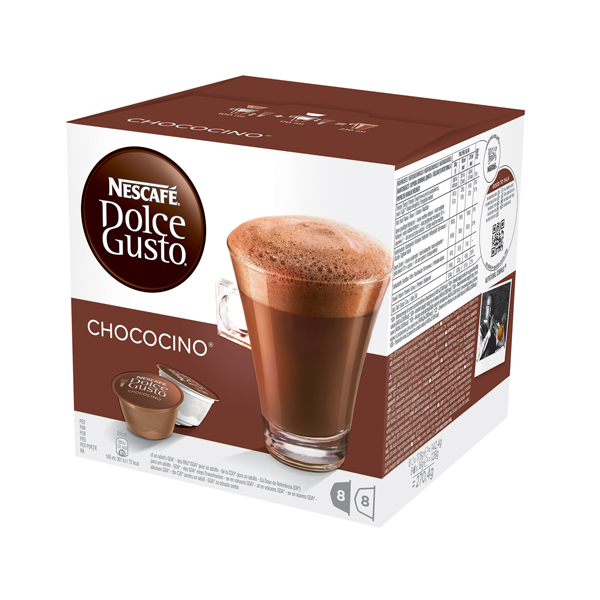 Catalogue - Vow Catalogue Nescafe Dolce Gusto Chocolate Capsules (Pack of 48) 12311711