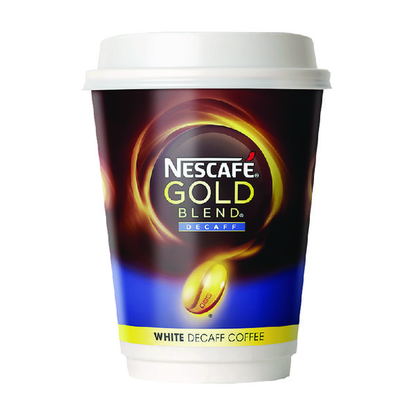 Nescafe & Go White Decaffeinated Coffee (Pack of 8) 12033784