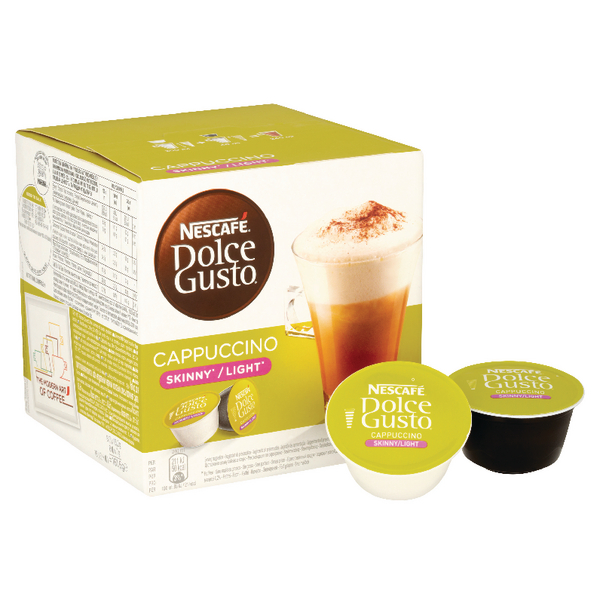 Catalogue - Vow Catalogue Nescafe Dolce Gusto Skinny Cappuccino Capsules (Pack of 48) 12051233