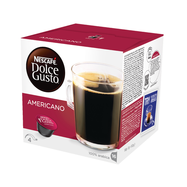 Catalogue - Vow Catalogue Nescafe Dolce Gusto Caffe Americano (Pack of 48) 121172974