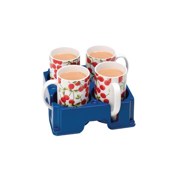 Muggi Blue 4 Mug Holder MUG002