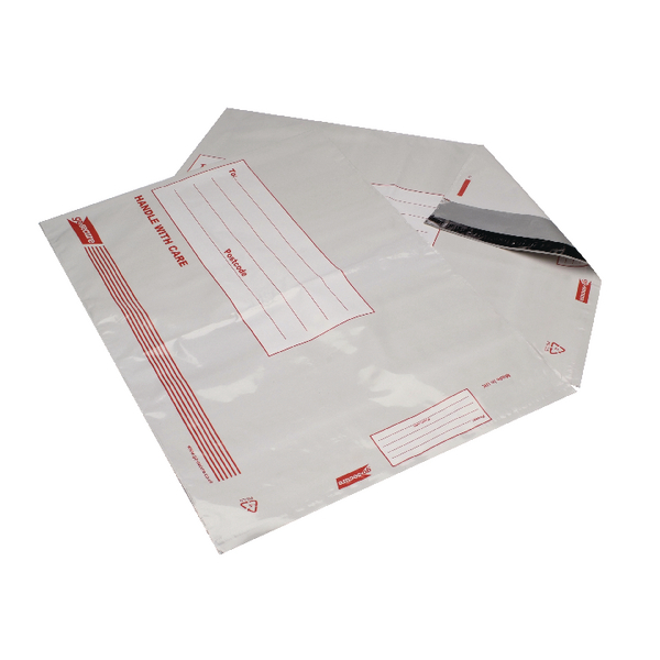 Go Secure Extra Strong Polythene Envelopes 165x240mm Pack of 25 PB08228