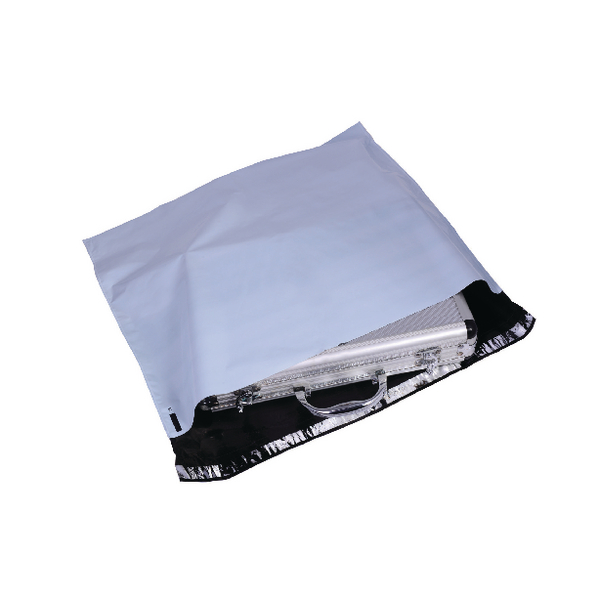 GoSecure Extra Strong 430x400mm Opaque Grey Polythene Envelope (Pack of 100) PB27272