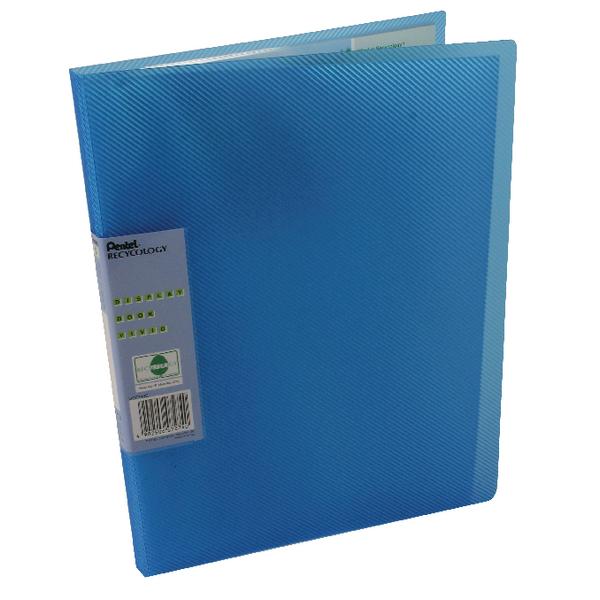 Pentel Recycology Vivid 30 Pocket Blue Display Book (Pack of 10) DCF343C