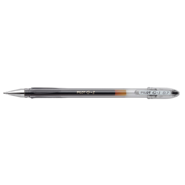 Pilot G1 Gel Ink 0.5mm Black Rollerball Pen (Pack of 12) G10501