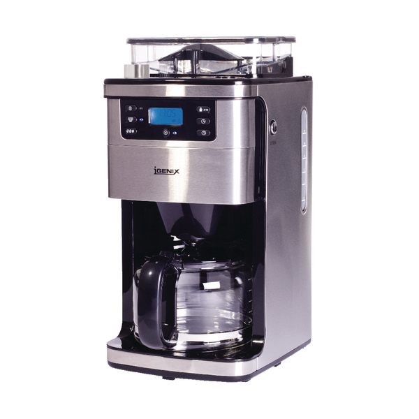 *Bean to Cup Coffee Machine 12 Cup Silver IG8225