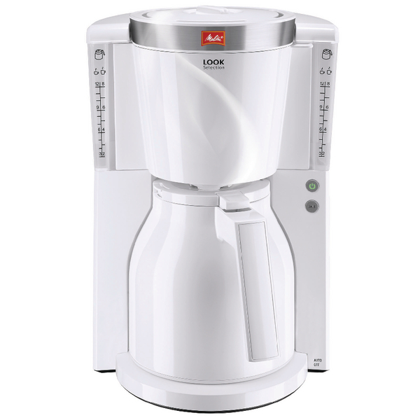 *Melitta Look IV Therm Selection Coffee Machine White 6738075