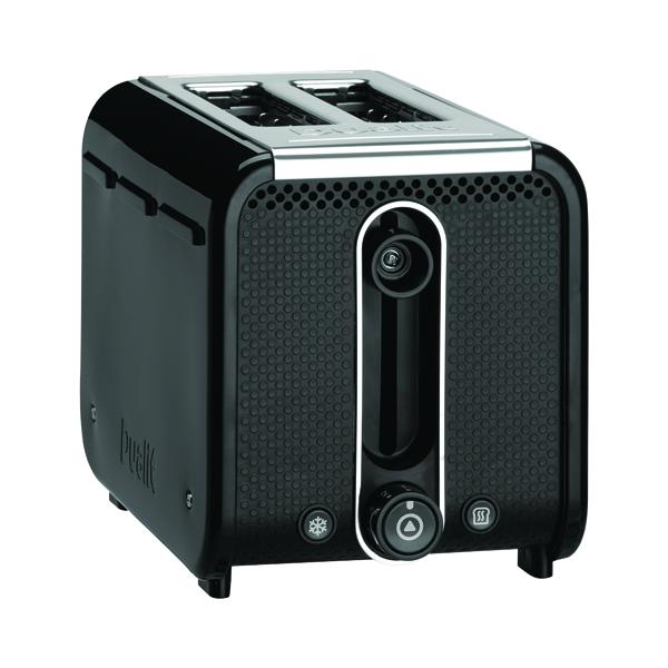 *Dualit 2 Slice Studio Toaster Black DA2641