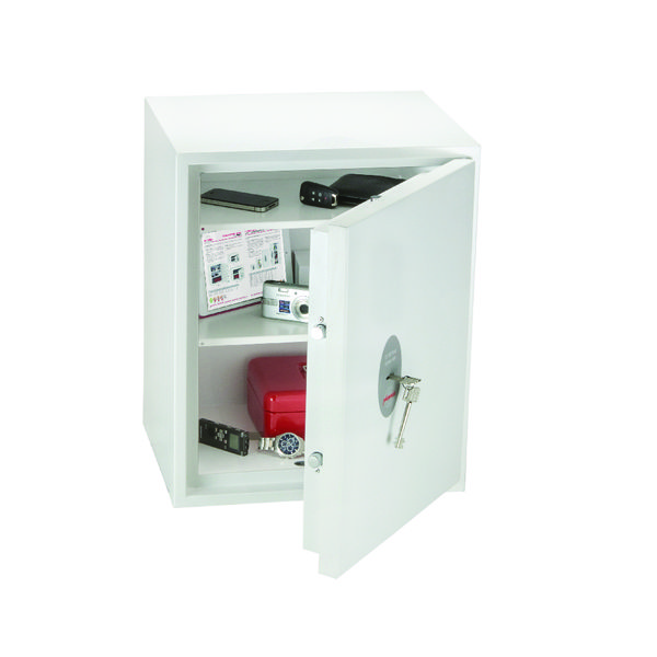 *Phoenix Fortress White Fortress High Security Burglary Safe SS1183K