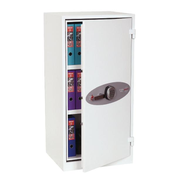 *Phoenix White Fire Ranger Cabinet Size 1 Key Lock FS1511K