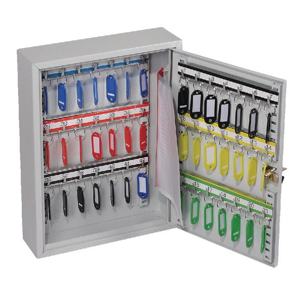 *Lockable 42 Hook Key Cabinet KC0601K